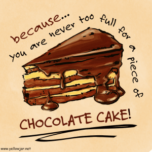 Slice Of Chocolate Cake Clipart